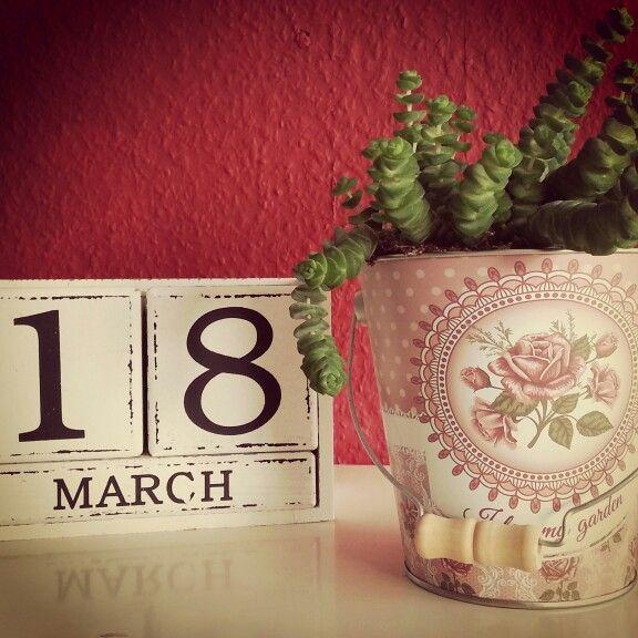 Shabby#Chic#Dauerkalender#Vintage#
