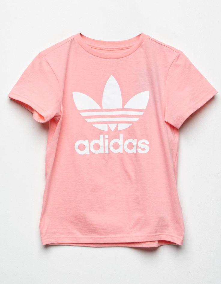 ADIDAS OG Trefoil Girls Tee - PINK - 359950350 | Short sleeve ...