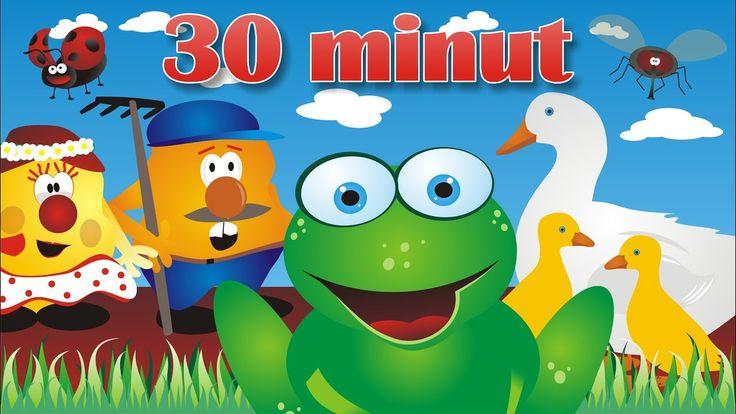 Żaby, kaczki i inne zwierzaczki - piosenki dla dzieci - 30 min - BABADU TV