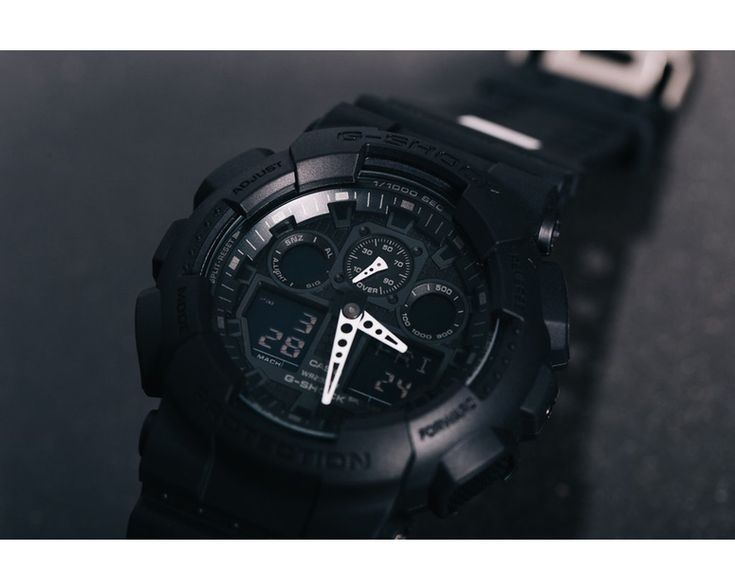 G-Shock GA-100CK-1A1 x Culture Kings Limited Edition