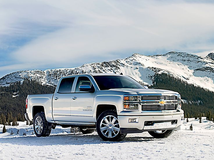 Chevy Silverado -- the classier 2014 Silverado High Country edition. Beauty!