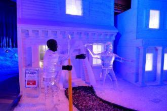 das kleinste Eishotel, Rövershagen, Karls Erbeerhof, Ausflugsziel, Moby Dick, 14. Eiszeit