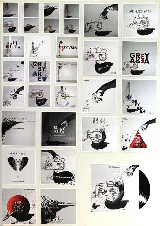 A Level Graphics - CD cover design