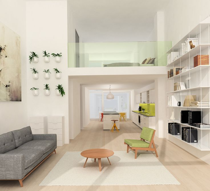 In the two-level apartments of Metropol Park, life extends over two floors. Young families find the unique spaces necessary for free development here.