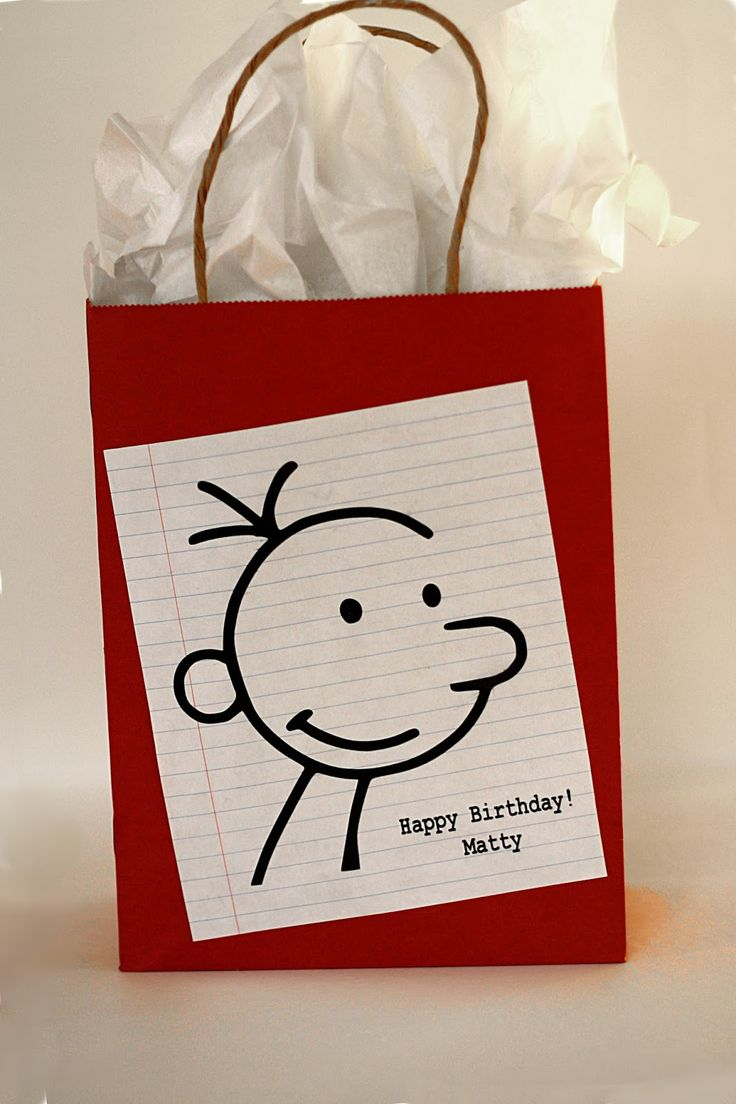 71 Best Diary Of A Wimpy Kid Party Images On Pinterest