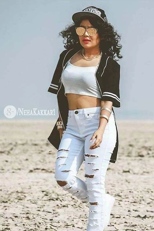 Beautiful Sexy Neha Kakkar Latest Photoshoot 2017