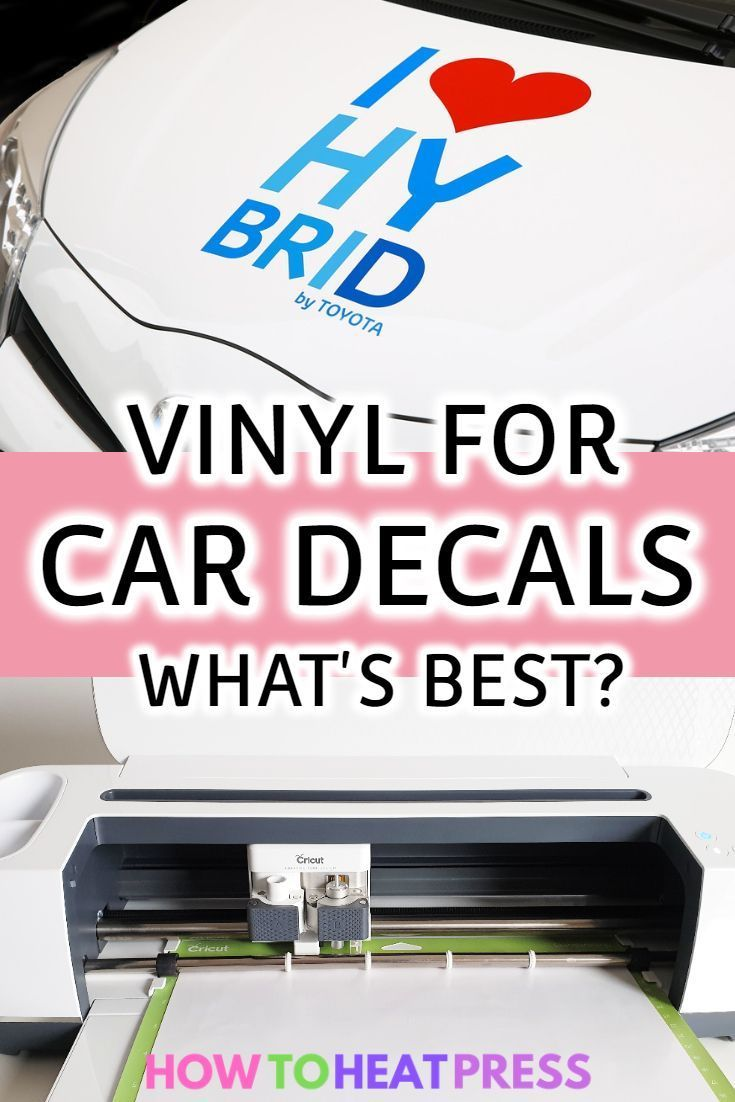 What Is The Best Vinyl For Car Decals Vinyl For Cars Adhesive Vinyl Projects Cricut Projects Vinyl