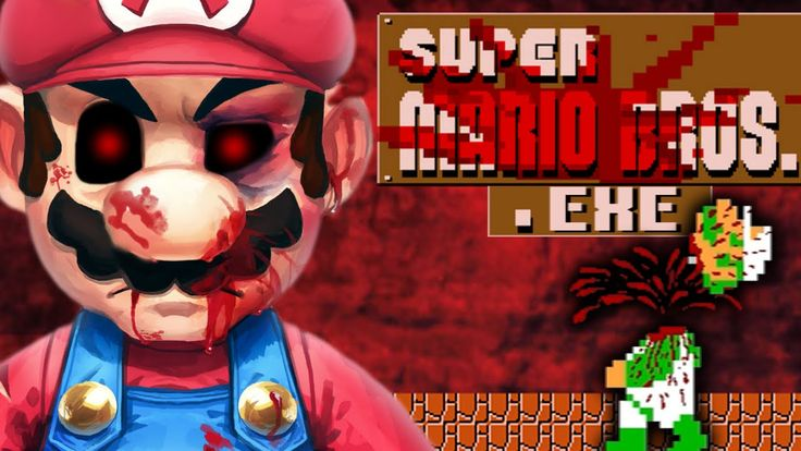 MARIO.EXE - THE BEST EXE GAME EVER? [SUPER MARIO HORROR GAME]