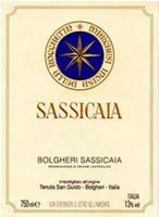 Tenuta San Guido Sassicaia Bolgheri, Tuscany, Italy