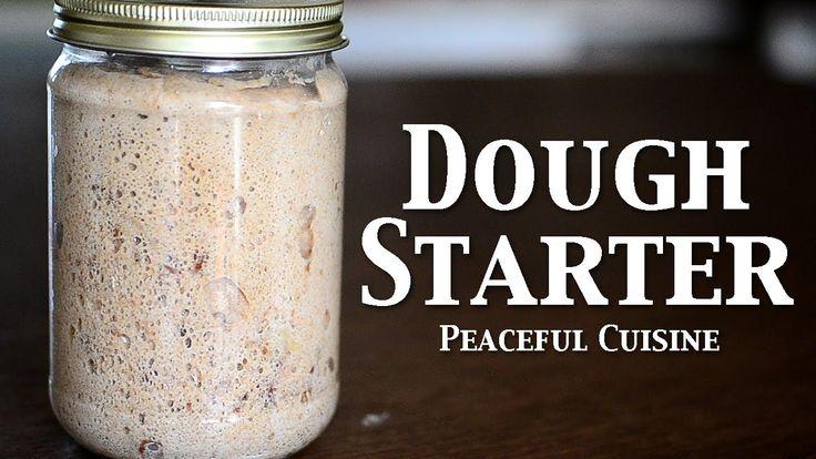 "Baking with natural yeast 2/3 ""Dough starter"" ☆ 天然酵母パン2〜元種〜 ❤ https://www.youtube.com/watch?v=UCa1zRXjITE"