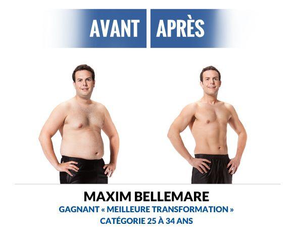 Transformation de Maxim Bellemare