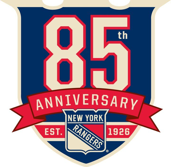 Image detail for -File:New York Rangers 85th Anniversary logo.jpg - Wikipedia, the free ...