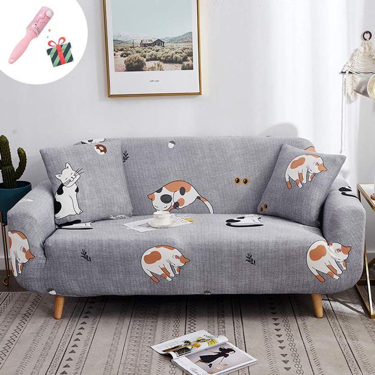 Elastisch Sofa Überwürfe Sofabezug, Morbuy Ecksofa L Form ...