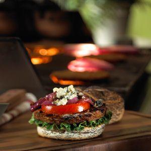 MorningStar Farms® – Black 'N Blue Burger INGREDIENTS: 1 MF Farms Prime®