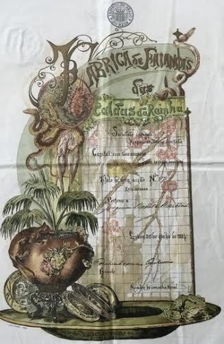 Online veilinghuis Catawiki: Portugal - Fabrica de Faiancas das Caldas da Rainha S.A. - Accao 20$000 Reis 30.6.1884