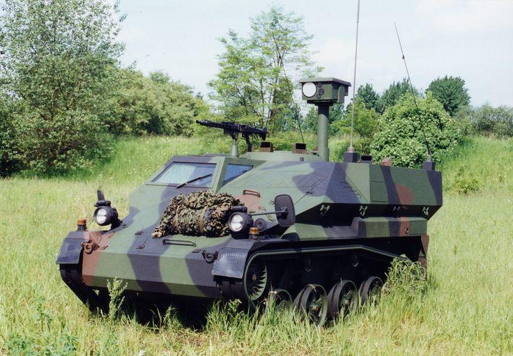 Wiesel 2 Awc Argus Reconnaissance Vehicle Afv