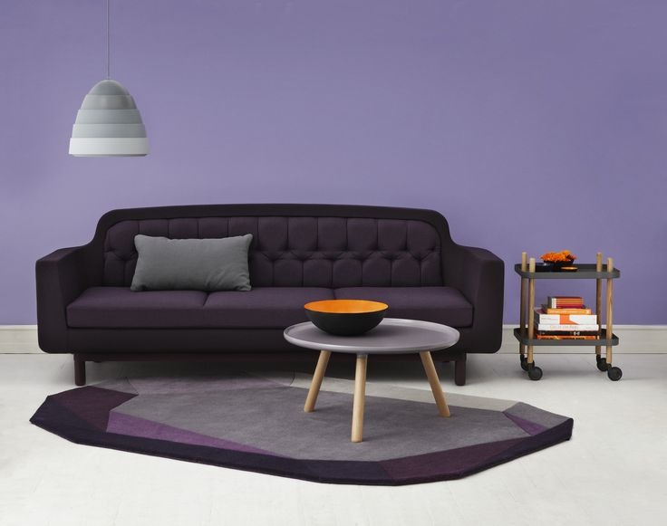 704 best Decor - Purples\/Violets images on Pinterest Purple - purple and grey living room