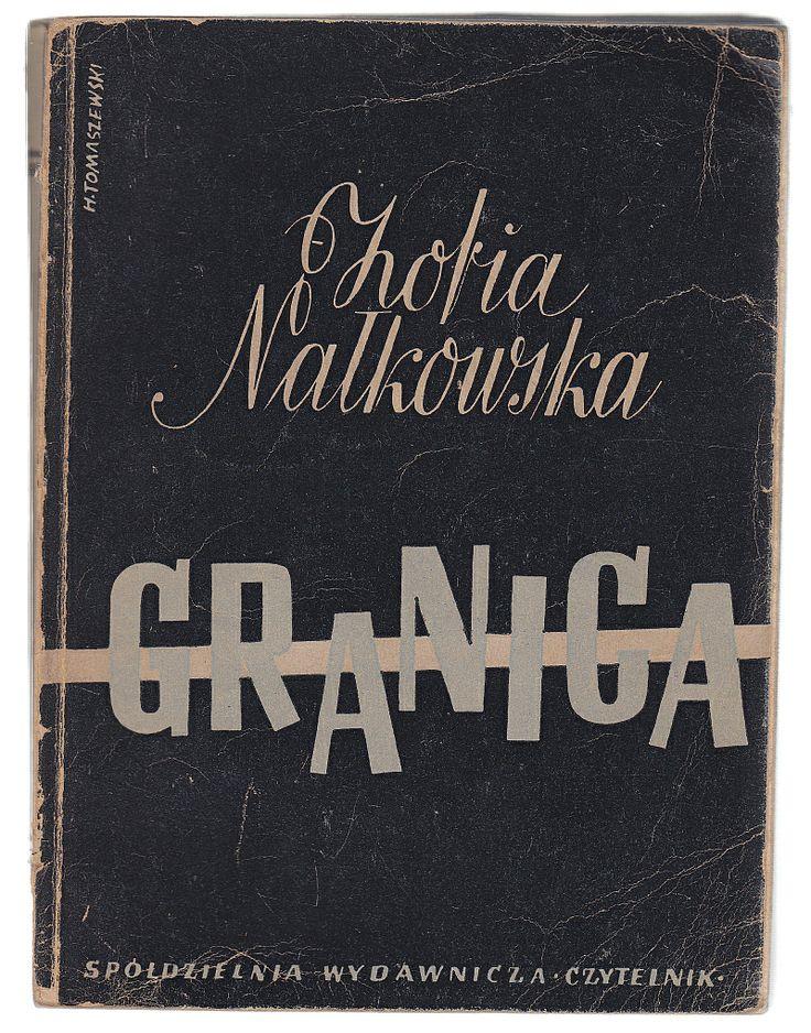 'Granica', Warszawa 1945, cover by Henryk Tomaszewski.