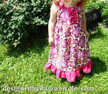 Tutorial: Harper Maxi Dress for girls