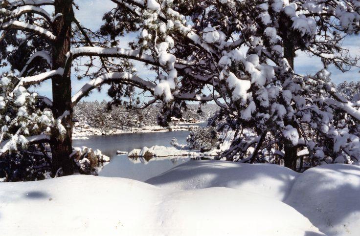 Sierra Tarahumara Chihuahua - Lago arareco nevado