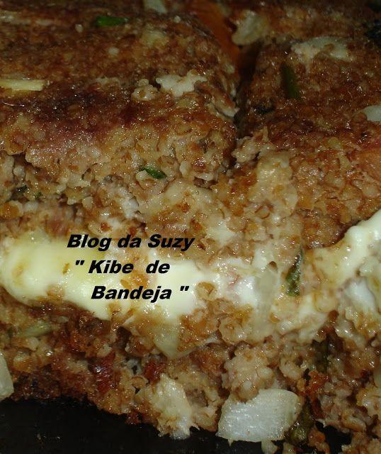 Blog da Suzy : Kibe de Bandeja (fácil)