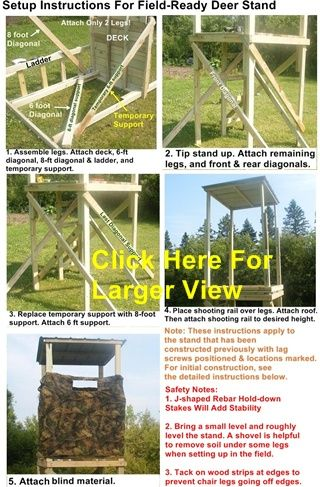 36 Best Deer Stands Images On Pinterest Shooting House