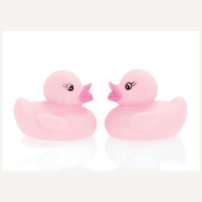 pink duck #postcards