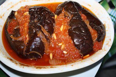 melanzane dell'Imam svenuto, ricetta turca
