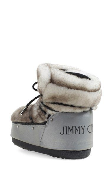 Winter ready! New style for traditional moon boots.