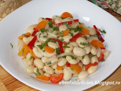 Absolut Delicios - Retete culinare: SALATA DE FASOLE BOABE