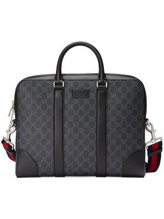 1cb8a36809f Gucci GG Supreme Briefcase