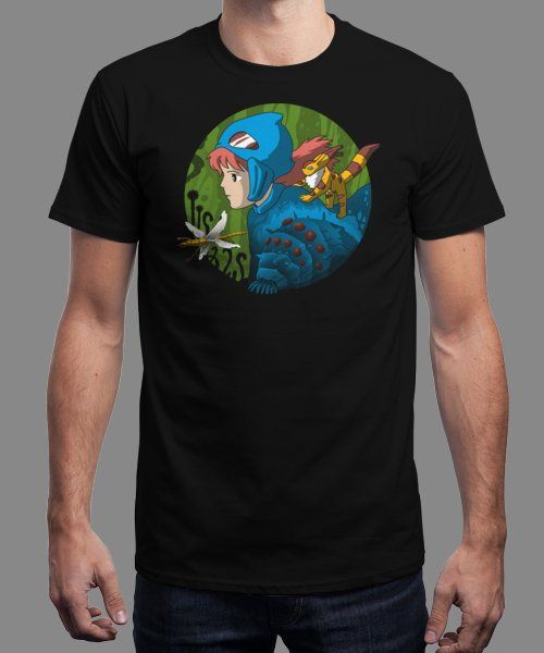 """""""Into the Toxic Jungle"""" is today's £9/€11/$12 tee for 24 hours only on www.Qwertee.com Pin this for a chance to win a FREE TEE this weekend. Follow us on pinterest.com/qwertee for a second! Thanks:)"""