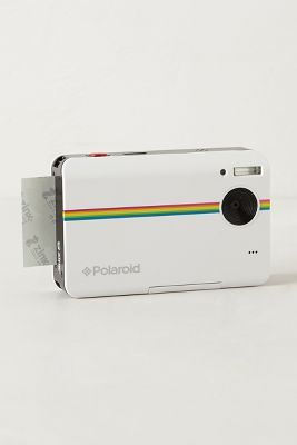 New Polaroid, much smaller than the one I remember.