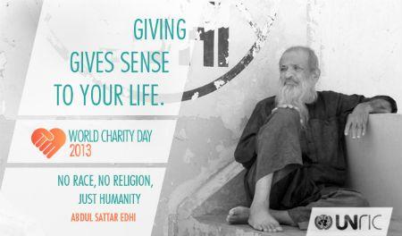 Internationale dag van de liefdadigheid