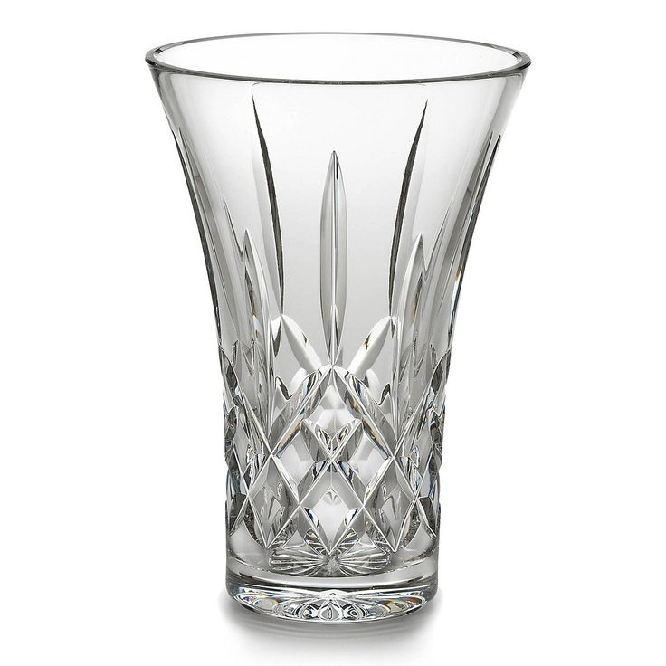Waterford Crystal Colorful Waterford Crystal Lismore Vase 8