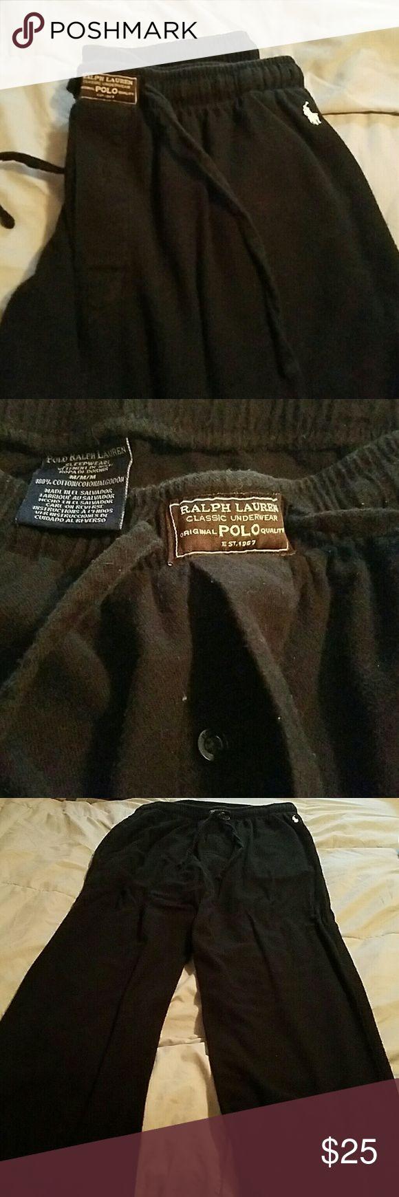 Men's Polo sleep pants Men's soft comfy sleep pants, Ralph Lauren.  1 button crotch Ralph Lauren Pants Jumpsuits & Rompers