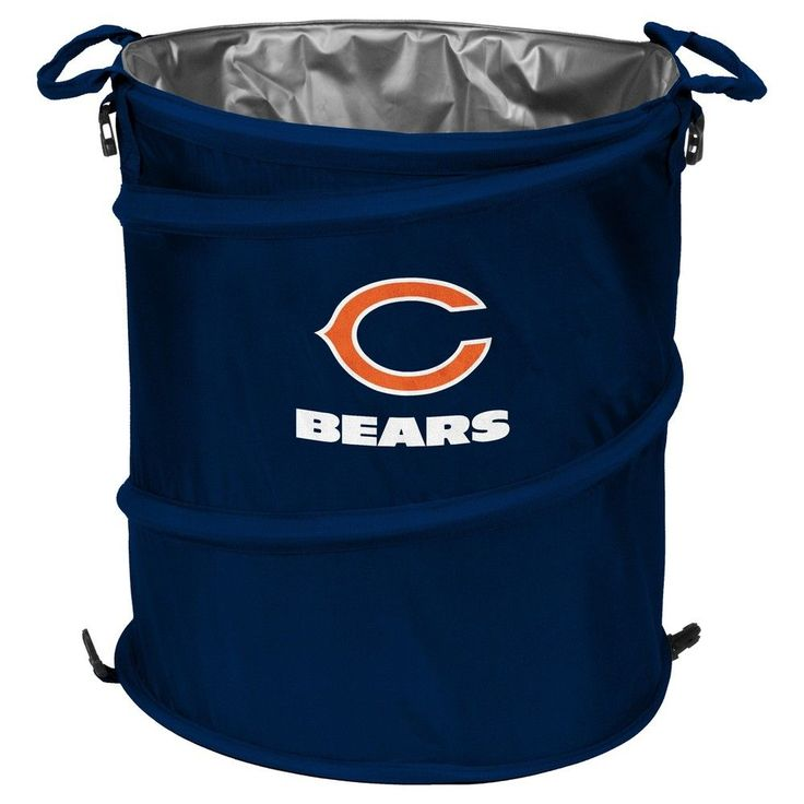 NFL Chicago Bears Collapsible 3-in-1 Soft-Sided Cooler Tote