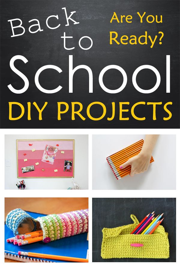 10 Back-to-School DIY Projects