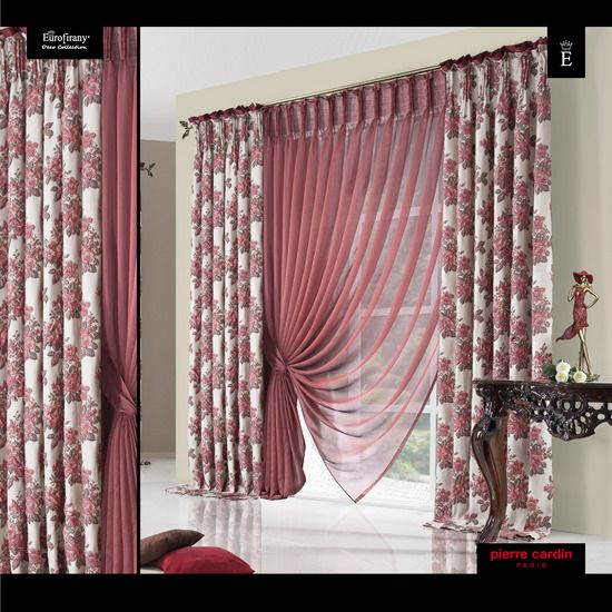 1026 best Firany images on Pinterest | Sheet curtains, Curtain ideas ...