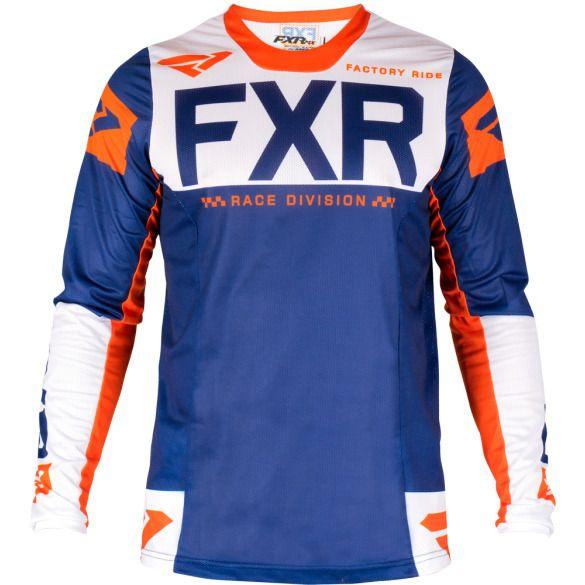 Download Fxr Helium Air Mx Jersey 19 Navy Orange Sz Xl Fxr Bikini