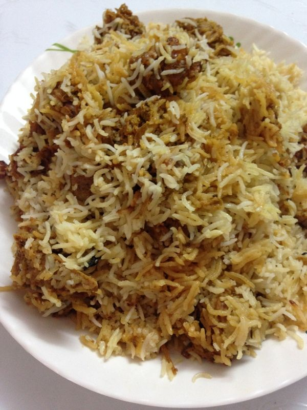 Mutton Dum Biryani Hyderabadi  #indianfood #dinnerideas  http://yummyindiankitchen.com/