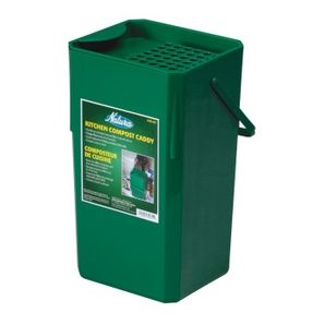 "HomeHardware: 13"" Plastic Kitchen Composter, with Filter"
