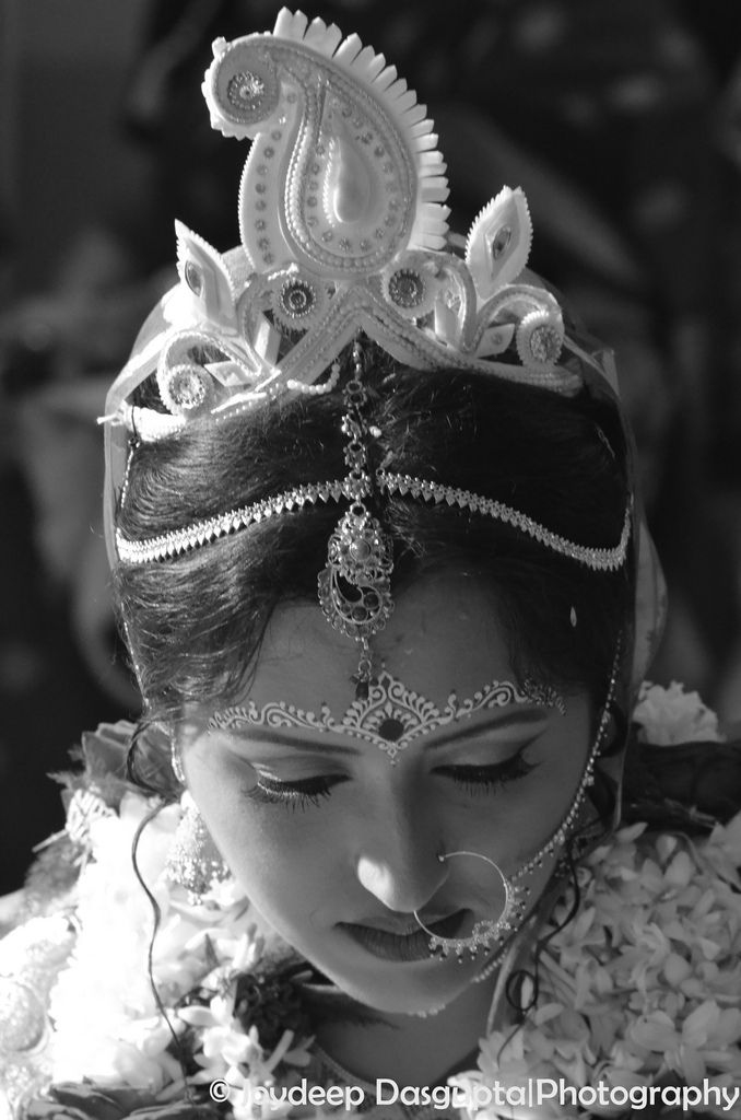 Bengali Hindu bride India