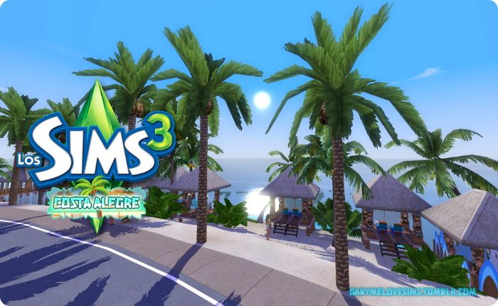 Costa Alegre world by Gabymelove - Sims 3 Downloads CC Caboodle