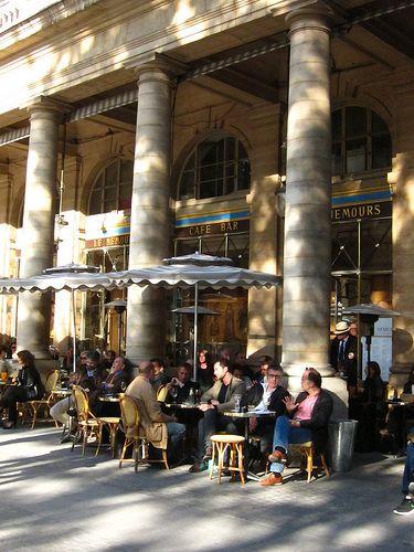 Café Le Nemours, 2 Galerie de Nemours, Paris I