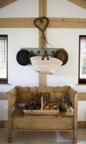 Modern Country Style: A Stunning Scandinavian/ New England House Tour Click through for details.