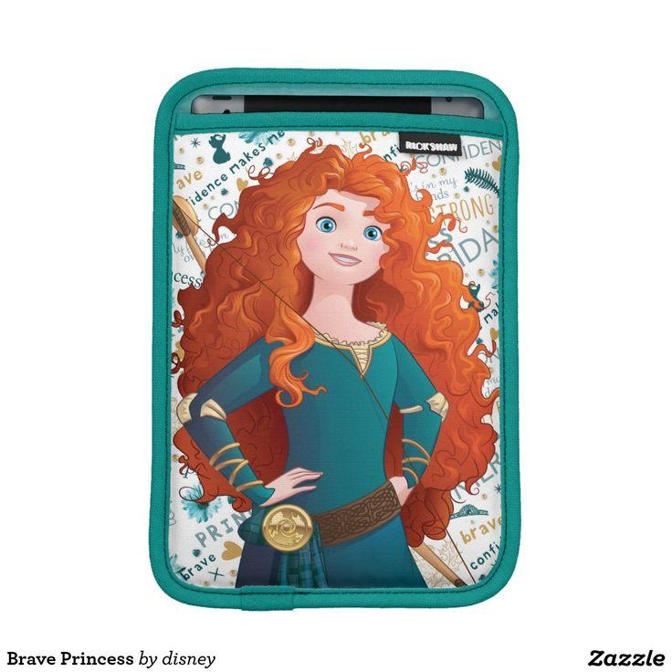Brave Princess iPad Mini Sleeves #funda #sleeve