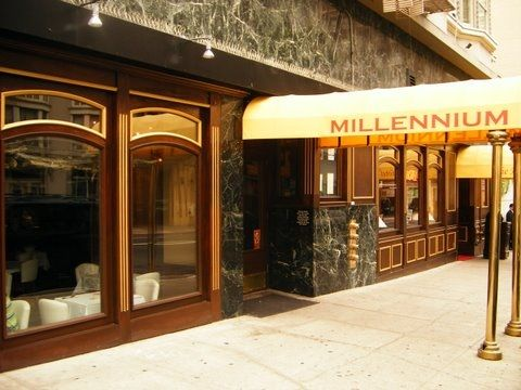 Millenium in San Francisco is a well known gourmet vegan restaurant that is wildly popular with the gluten free crowd. #glutenfree #milleniumsf