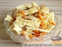 Фото к рецепту: Салат из спаржи по-корейски