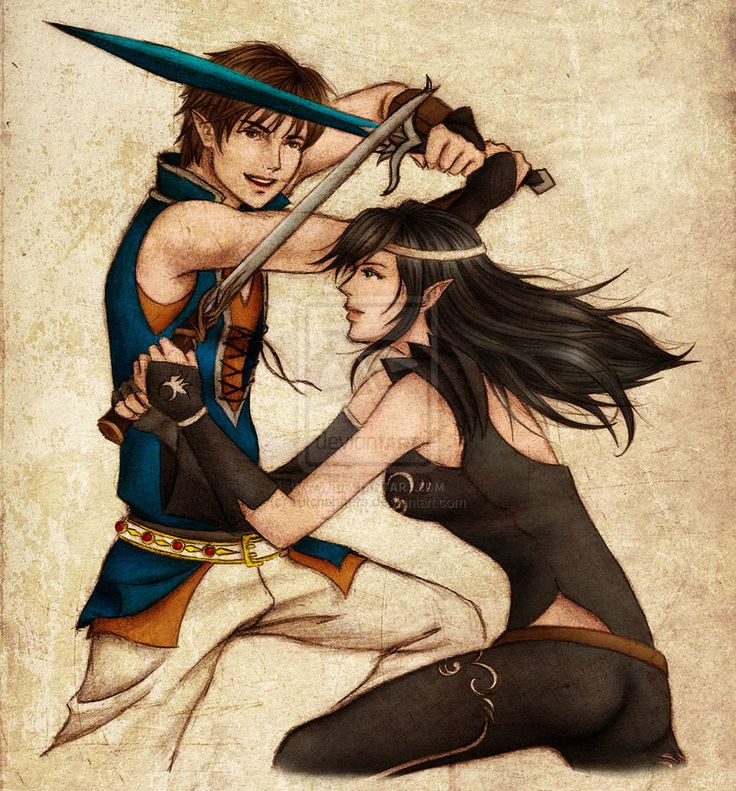 Shadeslayers' Duel by *iTrixia on DeviantART
